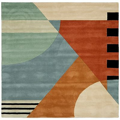 Safavieh Rodeo Drive Gold Wool Area Rug 6' Square - RD863A-6SQ