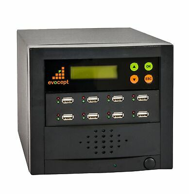 evocept 8 slot 7 target USB Flash Copier Duplicator Tower