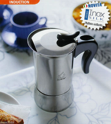 New Forever Miss Inox Stainless Steel 10 Cup Coffee Maker Percolator Stove Top