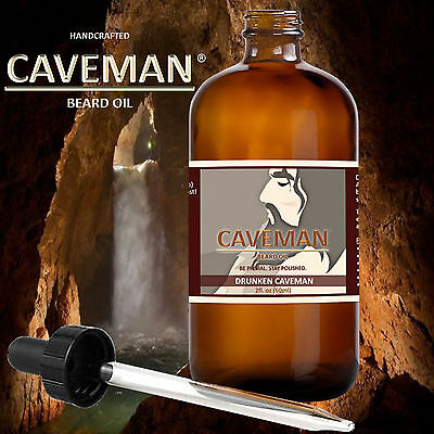 Treatments, Oils & Protectors Aftershave & Pre-shave Beard And Mustache Oil Sensitive Fragrance Free By Caveman Beard Care 2 Ounces
