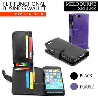 For Apple iPhone 6 Case Long Wallet Leather iPhone 6 Plus Cover