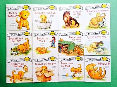 Biscuit Children's Books I Can Read Phonics Learning to Read Lot 12