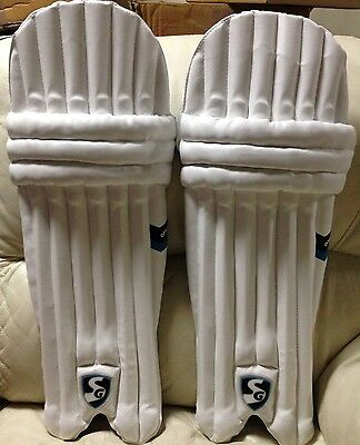 SG - Youth (Junior) Cricket Batting Pads RH/LH + Free Shipping + Free Extras