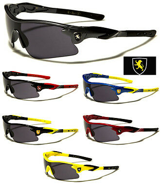 New Kids Children Khan Sport Motorcycle Riding Sunglasses Boys Ages 3-10