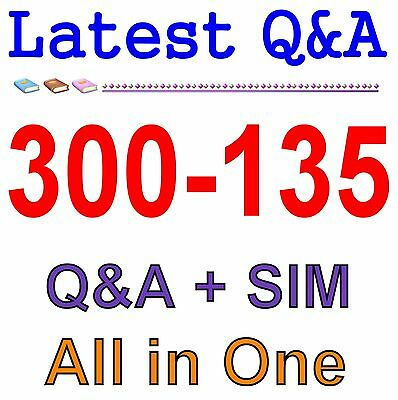 Cisco Best Practice Material For 300-135 Exam Q&A PDF+SIM