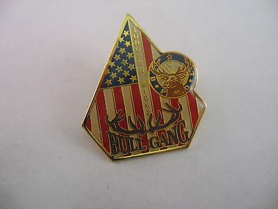 BPOE Elks Lapel Pin: TONOPAH #1062 BULL GANG