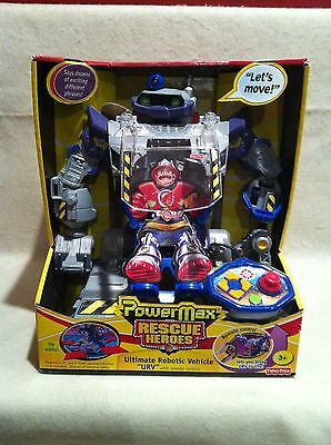 Rescue Heroes PowerMax URV! Ultimate Robotic Vehicle! FACTORY SEALED!