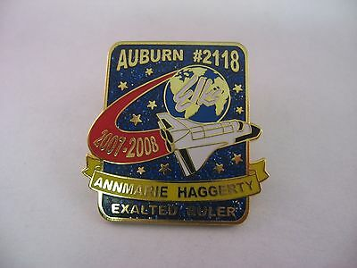 BPOE Elks Lapel Pin: AUBURN #2118 Annemarie Haggerty 2007-2008