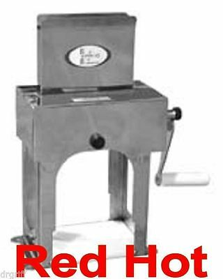 New Fma Omcan Stainless Steel  Manual Meat Tenderizer Cuber 10883