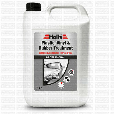 Holts Plastic Vinyl And Rubber Treatment 5L Cleaning Cleaner Automotive Refresh