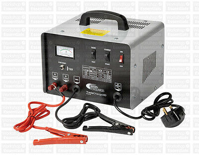 Ring Automotive 30A Bench Battery Charger Starter 12V 24V TradeCharge30 RCBT30