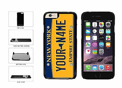 Personalized Custom New York License Plate Plastic Case For iPhone 6 (4.7 In)