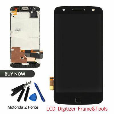Replacement LCD Screen Touch Digitizer&Frame For Motorola Moto Z Force XT1650-02