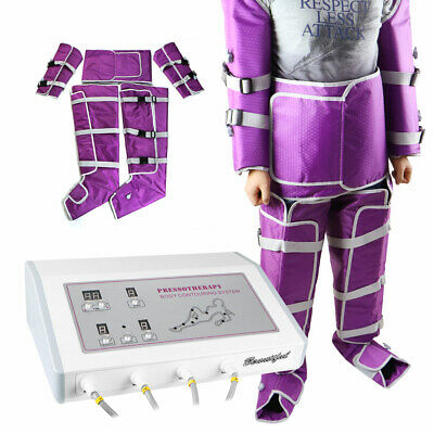 Pressotherapy Suana Suit Lymph Drainage Slimming Blanket Machine Spa Home Use