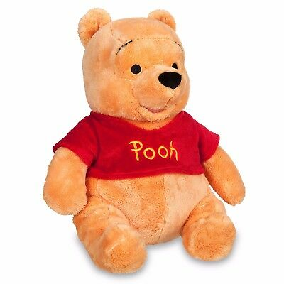 "New DisneyStore Genuine Original Winnie the Pooh 14"" Medium Plush for Kids"