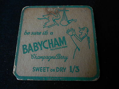 Vintage Babycham Coaster beer mats one of several Listed