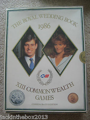 The Royal Wedding X111th Commonwealth Games Commemorative Book 1986 Edition