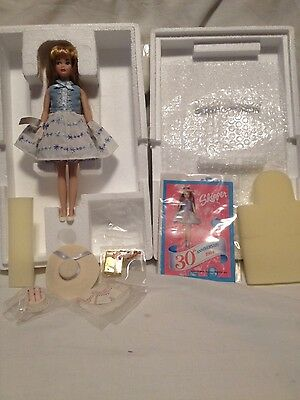 30th Anniversary Skipper 1993 Barbie Doll Limited Edition Porcelain#05444 in box