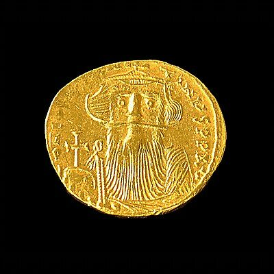 Aphrodite- Ancient Byzantine Gold Solidus Of Constans Ii