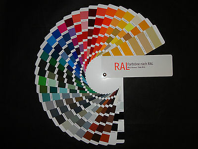 RAL Colour card Color specialists color departments without