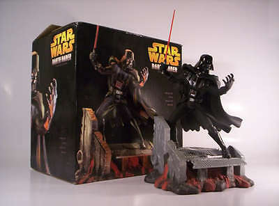 "Hasbro Star Wars Darth Vader 17"" Cold-Cast Resin Statue 2005 Limited to 1500 MIB"