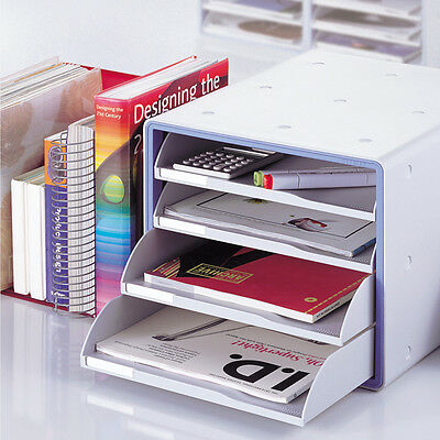 Deluxe Open File Cabinet Office My Room Open 4 Drawer  13105