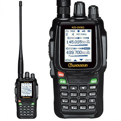 Wouxun KG-UV8D 136-174/420-480MHz Dual Band Two-way Radio