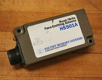 Escort Memory Systems HS501A, Read/Write Face-Emitting Antenna