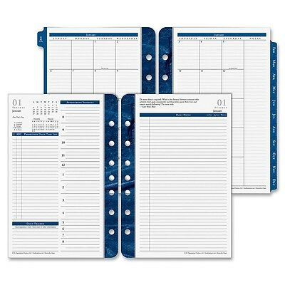 "Franklin Covey Classic Monticello Planner Refill 2015 - Daily - 8.50"" x 5.50"""