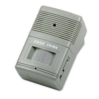 """TCO15300 Visitor Chime, Wall Mount, Adj. Volume, 2-3/4""""x2""""x4-1/4"""", GY"""