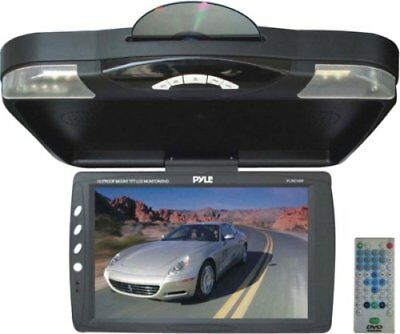 "PYLPLRD143FB Pyle 14.1"" Roof Mount TFT-LCD Monitor w Built-In DVD Player"