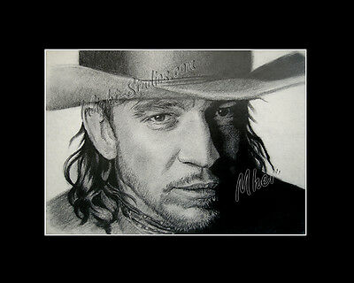 Stevie Ray Vaughan blues musician  drawing  from artist art image picture