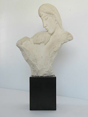 "Vintage 1984 Austin ""First Moments"" Sculpture by David Fisher17"" x 9""NR"