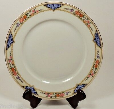 "KPM FINE CHINA KPM7 GERMANY DISHES 2 DINNER PLATES  9 5/8"" e"