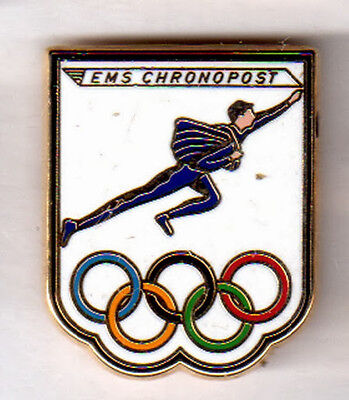 Pins Jo 005 Pub Chronopost - Anneaux Olympiques Olympics Olympic Rings