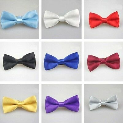 Lovely Boy Kids Baby Bow Ties Necktie Bowtie For Party Wedding Stain Bowknot