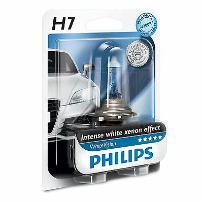 Philips WhiteVision H7 - Upgrade Head Light / Lamp / Bulb - 12972WHVB1 - Single