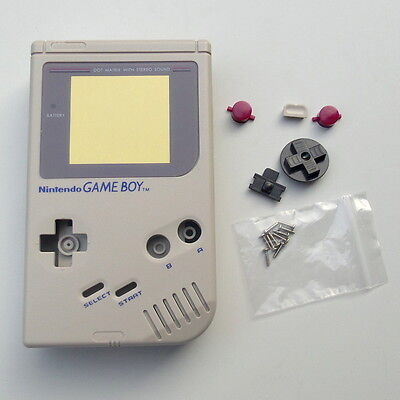 Gray OEM New Full Housing Shell for Nintendo For Gameboy Classic for GB DMG