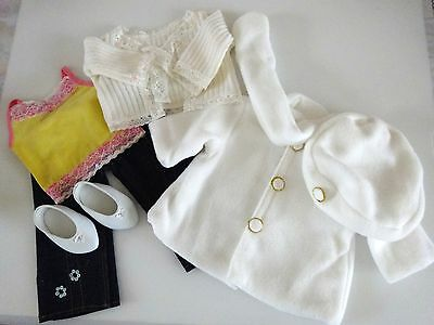 "NEW-Doll JEANS/TOPS/COAT/HAT/SHOES Set-Lot #88 fit 18""Doll such as American Girl"