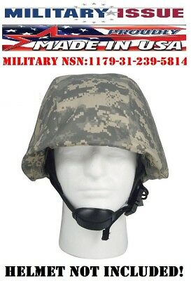 ACU Digital Army Military Helmet Cover For PASGT, M88 Combat Tactical Gear 9356