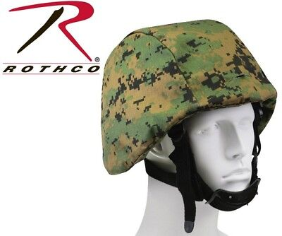 Woodland Digital Military Helmet Cover For PASGT, M88 Tactical Rothco 9354