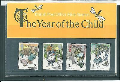 Gb - Presentation Packs - 1979 - International Year Of The Child