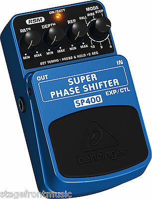 Behringer Ultimate Super Phase Shifter Sp400 - New