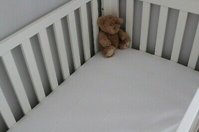 Cot Bed 100% Cotton Fitted/Flat Sheets