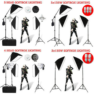 Photography Video Soft Box Softbox Lighting Boom Light Stand For Backdrop Kit