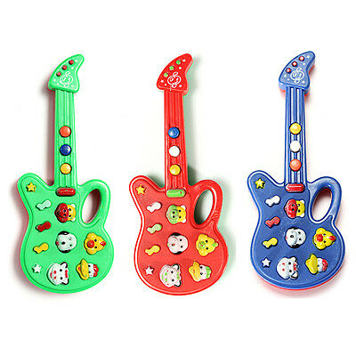 Hot Sell Electronic Guitar Nursery Rhyme Music Toy For Child Infant Boys Girls