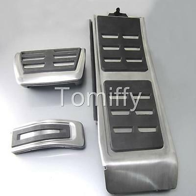 Gas Fuel Brake Foot Pedal Pad New For AUDI A4 S4 RS4 A5 A6 C7 Q5 S6 S5 RS5 A7 AT
