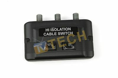 Manual Satellite Switch High Isolation Cable Switch