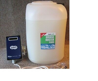 Grease Buster, Biological and Enzyme dosing system