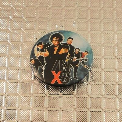 INXS button pinback badge © 1990 Official